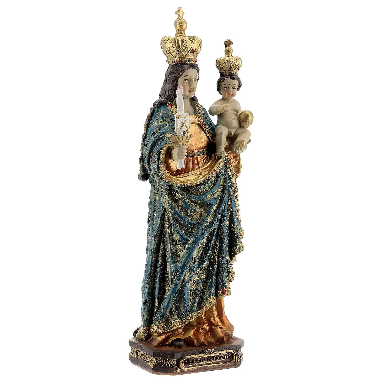 Notre-Dame de Bonaria statue résine 20 cm 4