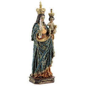 Our Lady of Bonaria statue in resin 20 cm s4
