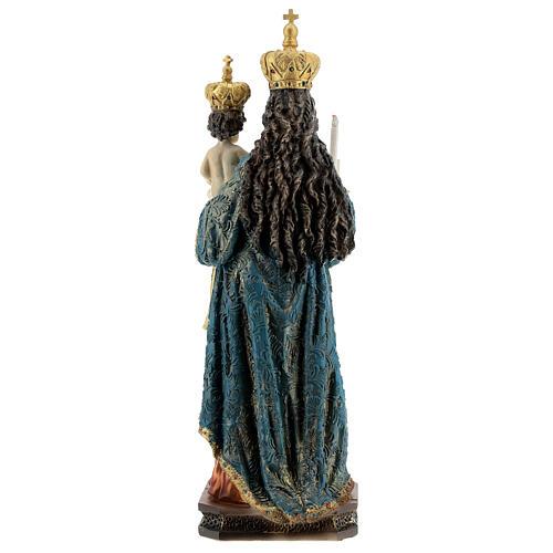 Statua Madonna di Bonaria con Bambino resina 31,5 cm 5