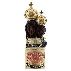 Estatua Virgen Loreto detalles oro resina 20 cm s2