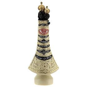 Nuestra Señora Loreto estatua resina 30 cm detalles oro s1