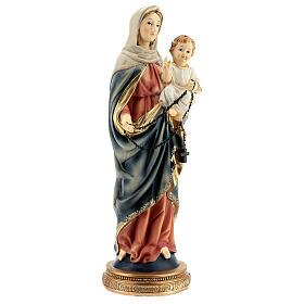María Jesús rosario oscuro estatua resina 31 cm s4
