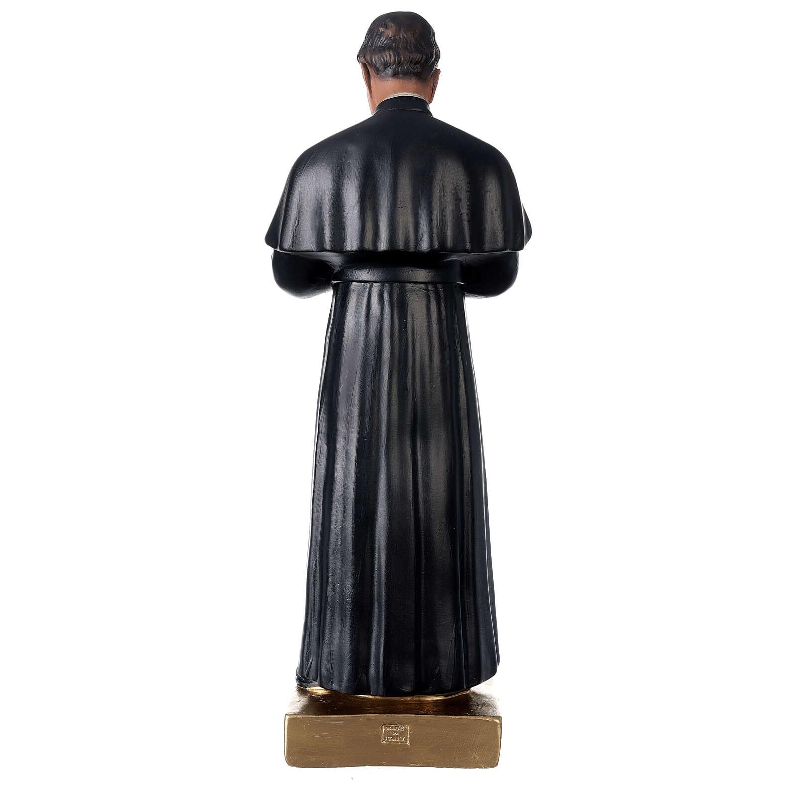 St. John Bosco hand painted plaster statue Arte Barsanti 60 cm 4