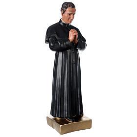 Saint Jean Bosco statue plâtre 60 cm peint main Barsanti s4