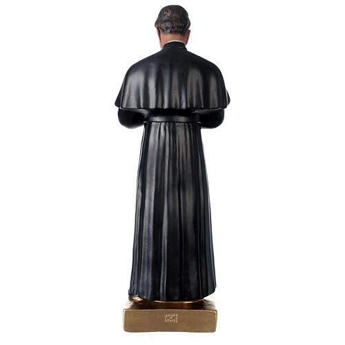 Saint Jean Bosco statue plâtre 60 cm peint main Barsanti 5