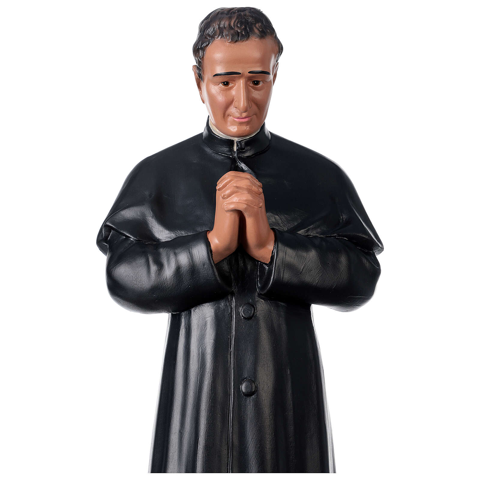 Saint John Bosco plaster statue 24 in hand-painted Arte Barsanti 4