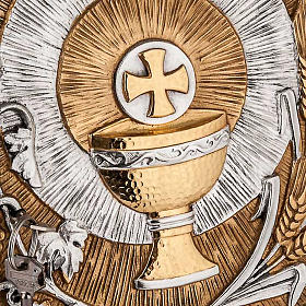 Tabernacolo a muro simboli eucaristici s2