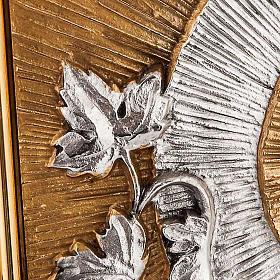 Tabernacolo a muro simboli eucaristici s3