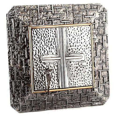 Tabernacolo a Muro martellato croce 1