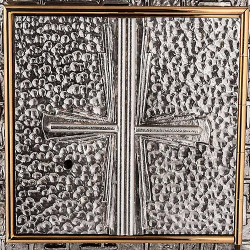 Tabernacolo a Muro martellato croce 2