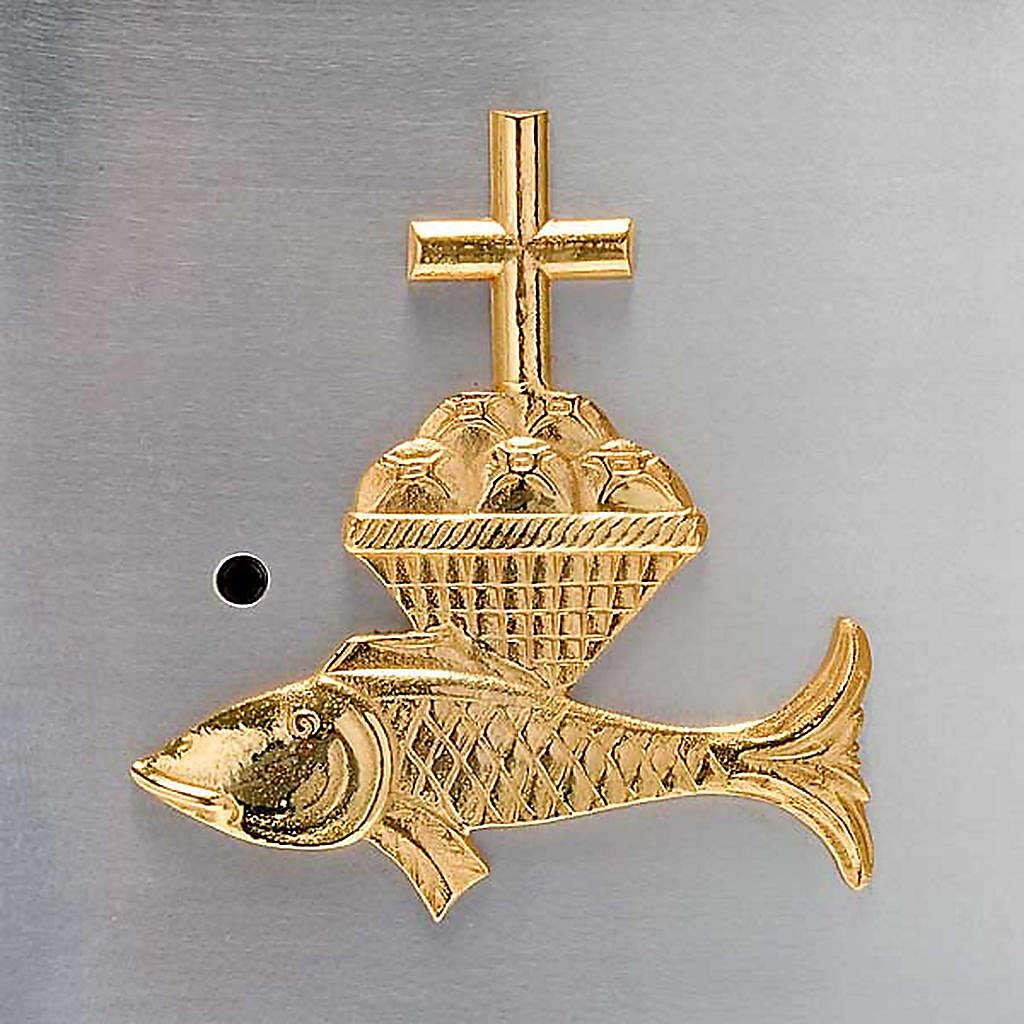 Tabernacolo a muro pani e pesci 4