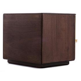 Tabernacle d'autel bois porte en laiton fondu raisins s8