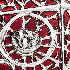 Tabernacle d'autel bois porte en laiton fondu pain s3