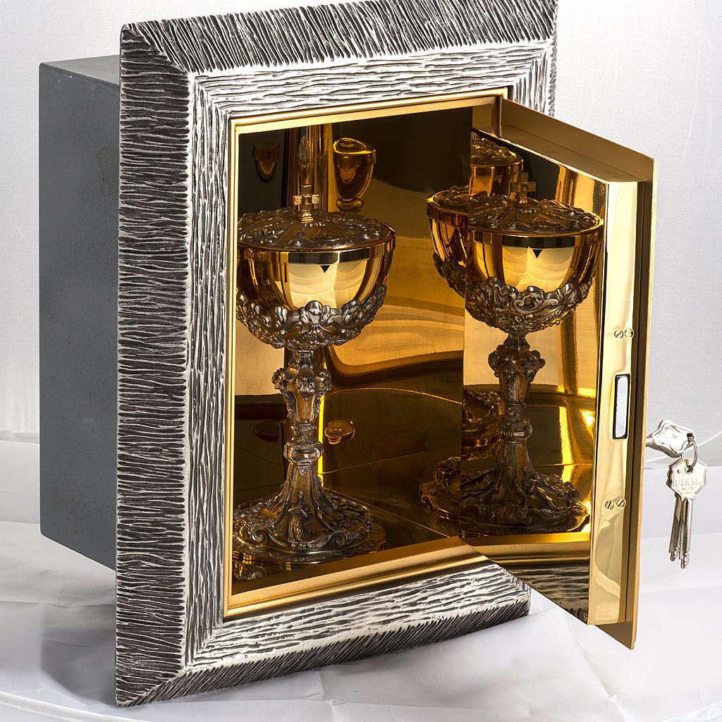 Sagrario Última Cena latón, imagen bronce 4