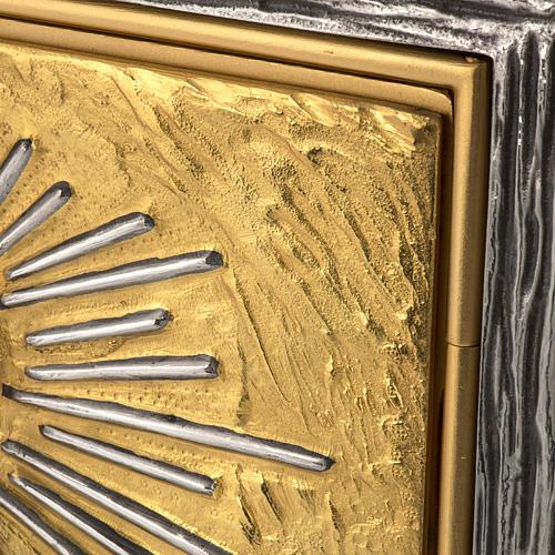 Sagrario Última Cena latón, imagen bronce 3