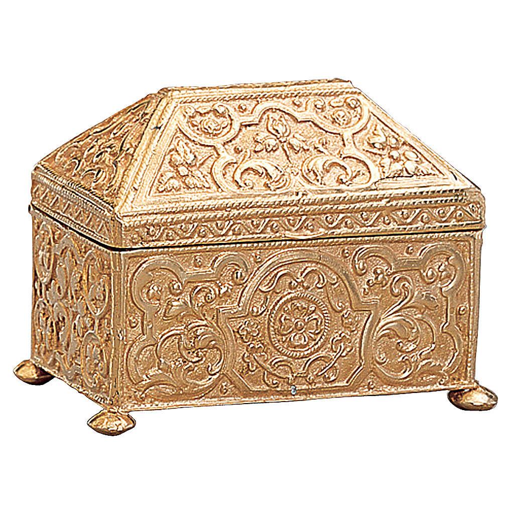 Scatola per chiavi tabernacolo ottone dorato Molina 4