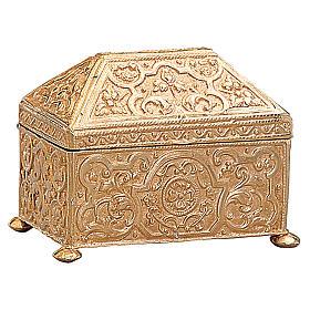 Scatola per chiavi tabernacolo ottone dorato Molina s1