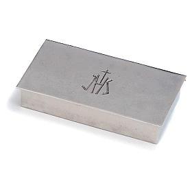 Scatola per chiavi tabernacolo ottone argentato JHS Molina s1