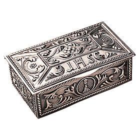 Scatola per chiavi tabernacolo ottone decorato Molina s1