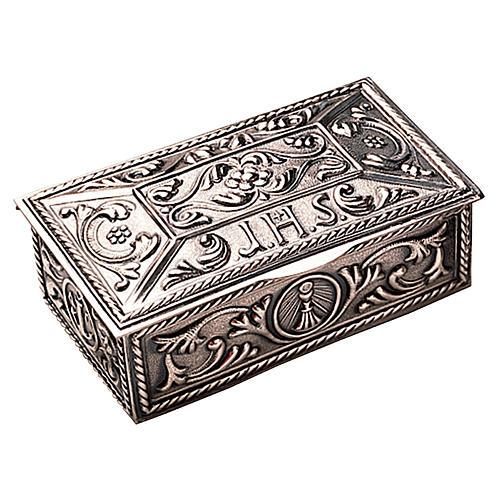 Scatola per chiavi tabernacolo ottone decorato Molina 1