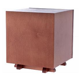 Sagrario de madera y placa aluminio JHS 20x20 cm s4