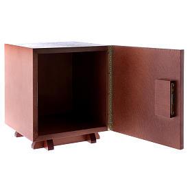 Sagrario de madera y placa aluminio JHS 20x20 cm s5