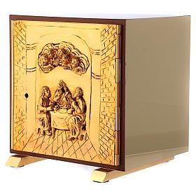 Tabernacolo Ultima Cena legno scocca oro s3