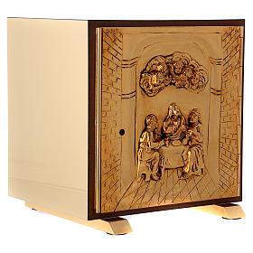 Tabernacolo Ultima Cena legno scocca oro s4
