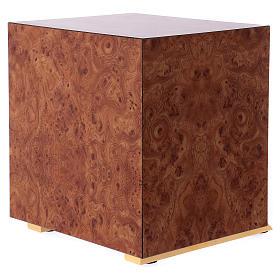 Tabernacolo Calice legno finitura radica di olmo s6