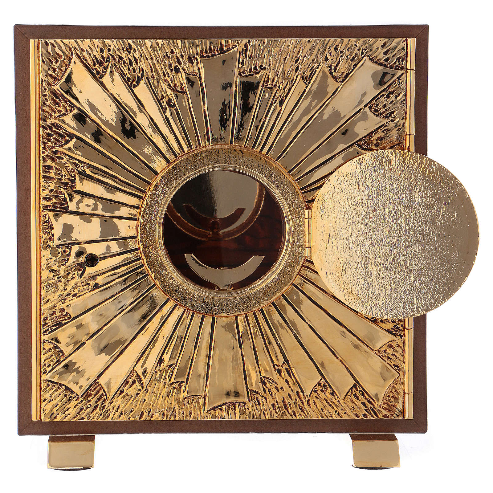 Tabernacle exposition IHS coque or 4