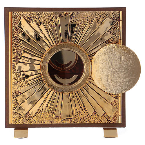 Tabernacle exposition IHS coque or 3