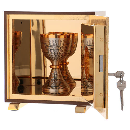 Tabernacle exposition IHS coque or 6