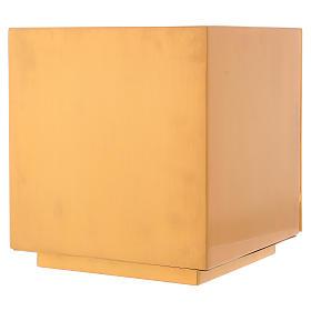 Sagrario de misa de latón dorado IHS s8