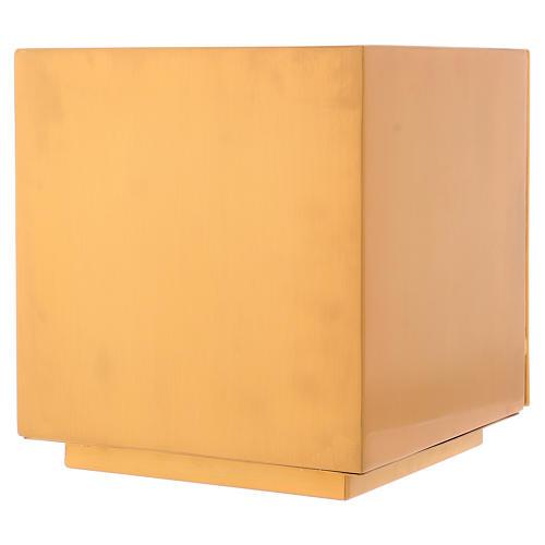 Sagrario de misa de latón dorado IHS 8