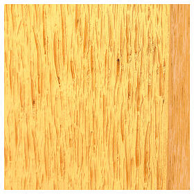 Tabernacolo da mensa in ottone fuso decorazione dorata IHS s8