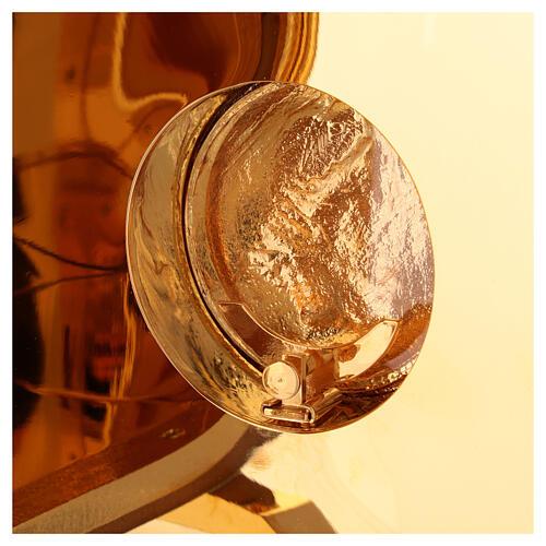 Tabernacolo da Altare esposizione Agnello scocca dorata 9