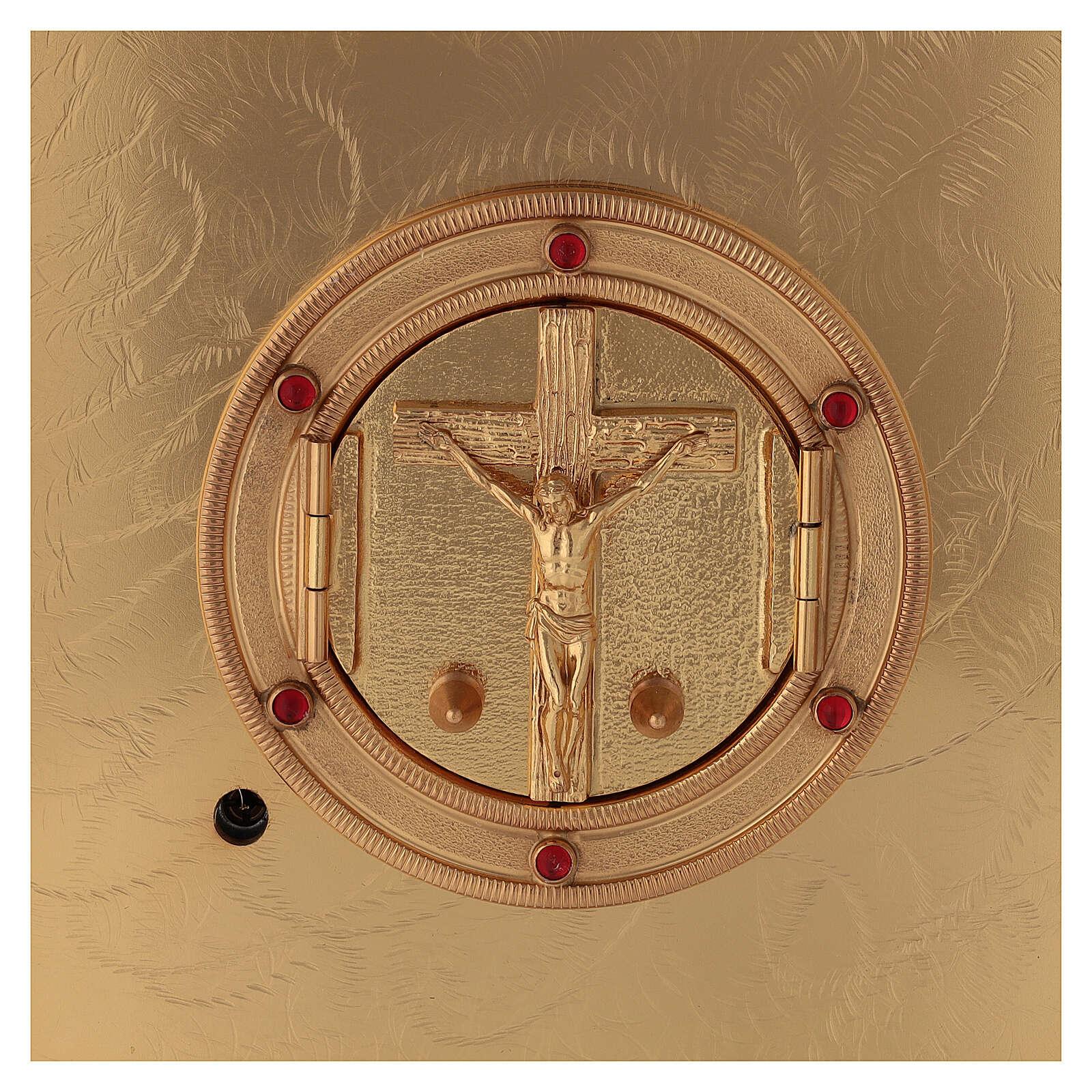 Tabernacolo crocefisso esposizione Santissimo 4