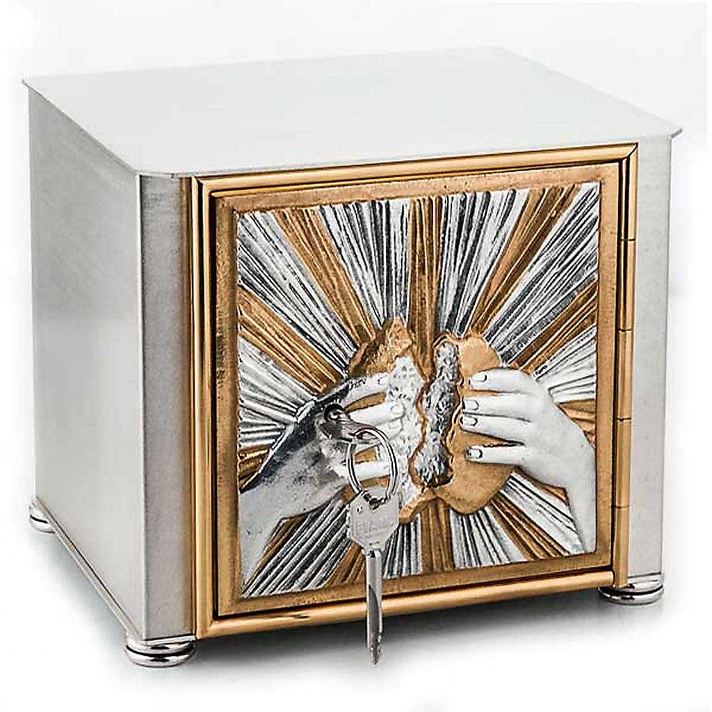 Altar tabernacle braking bread 4