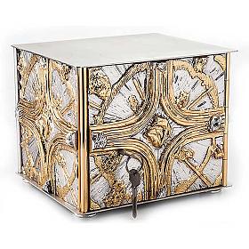 Tabernacle de table , croix dorée s1