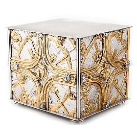 Tabernacle de table , croix dorée s2