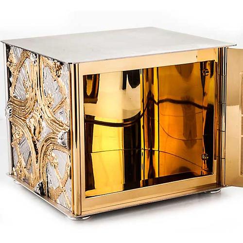 Tabernacle de table , croix dorée 3