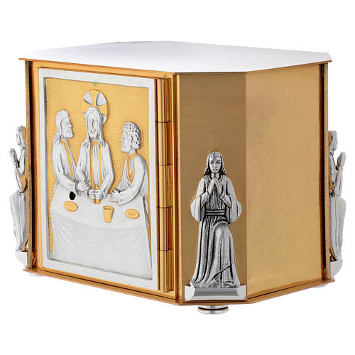 Altar tabernacle, gold Last Supper 2