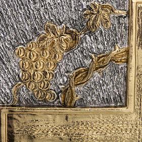 Tabernacolo da mensa ottone bicolore Agnello Immolato s7