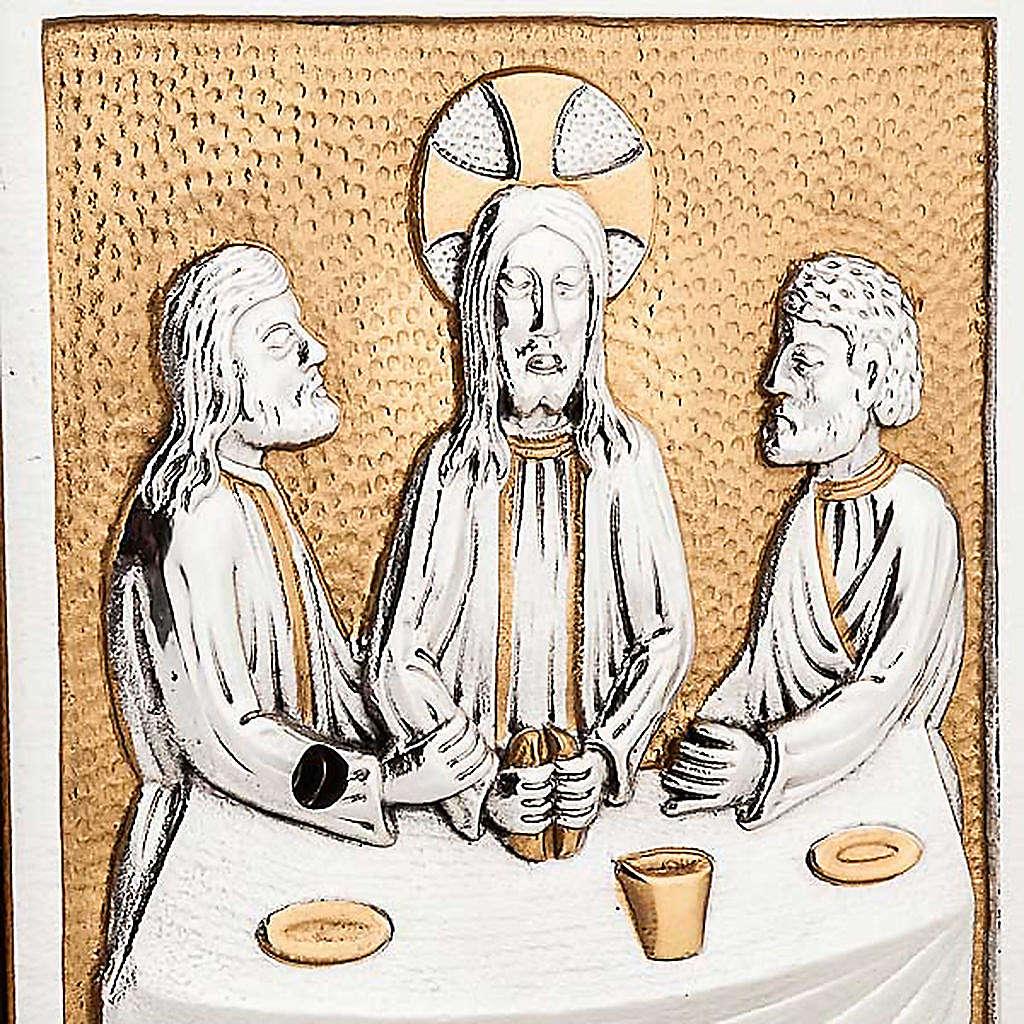 Sagrario de altar  Última Cena bronce 4