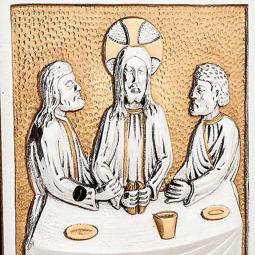 Sagrario de altar  Última Cena bronce 2