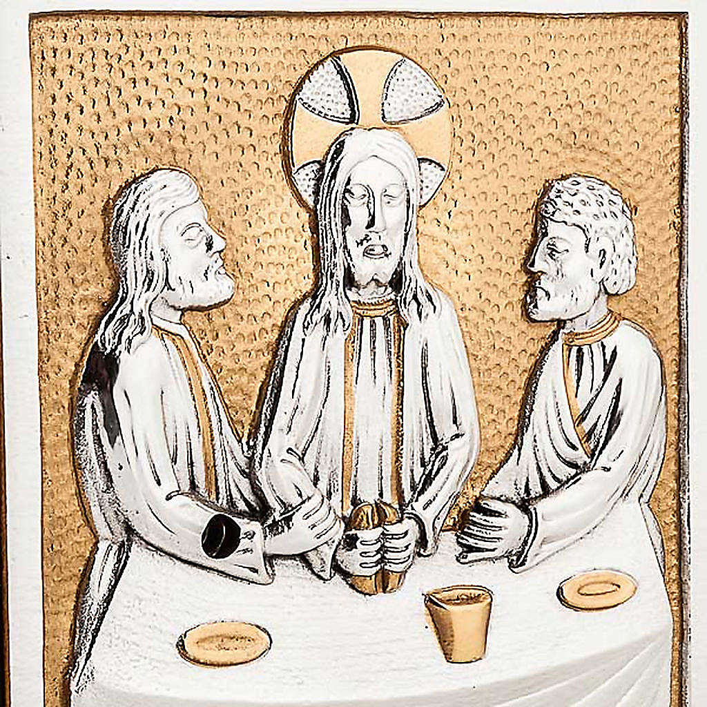 Tabernacle d'autel Dernière Cène 4