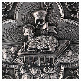 Tabernacolo Molina ottone Agnus Dei