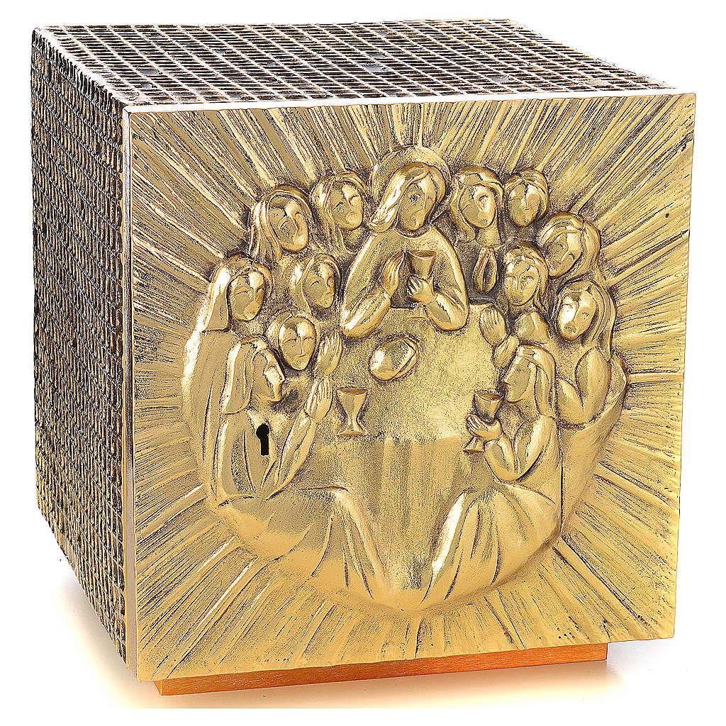Tabernacle Molina résine et métal Dernière Cene 4
