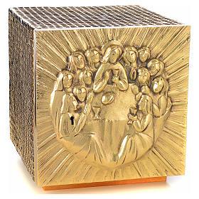 Tabernacle Molina résine et métal Dernière Cene s5