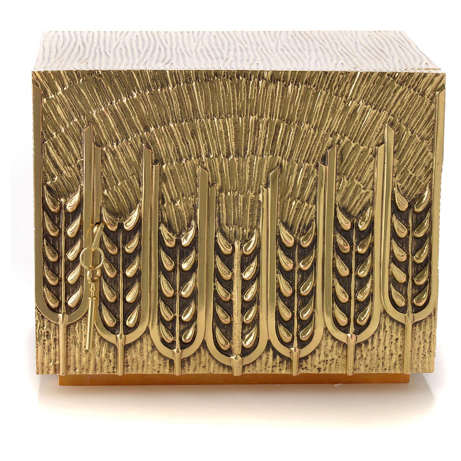 Sacrário Molina latão trigo 4